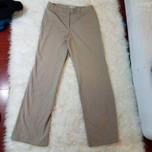 Chadwicks Classics Dress Pants 12T Tall Brown D1